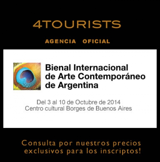 4TOURISTS Agencia oficial de la Bienal internacional de Arte Contemporáneo de Argentina