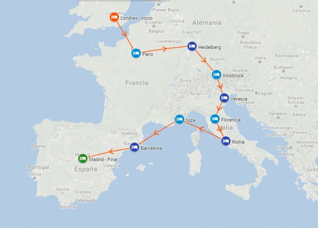 Viaje a Europa en Salida Grupal - Ilusion Europea - Paquete europa