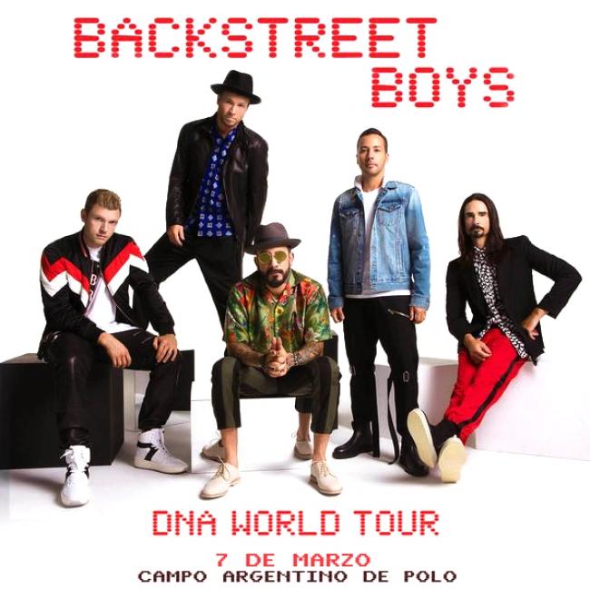 Backstreet Boys en Argentina 2020