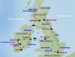 Salida Grupal Inglaterra, Escocia e Irlanda y Acompañada