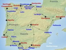 Viaje Grupal a Portugal y España