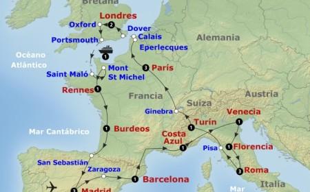 Tour Europeo con Londres