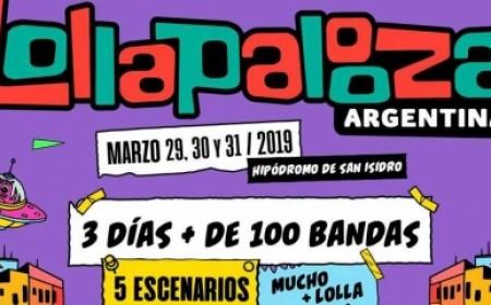 Viaje Lollapalooza Argentina
