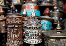 Ruedas de plegaria Tibetanas, Stupa Bodhnath