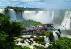 Cataratas del Iguazú - Vista aerea