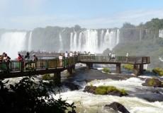 Cataratas del Iguazú - Vista pasarelas