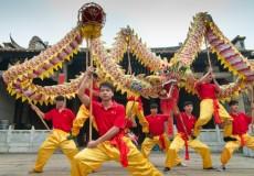 Fiesta del Dragon en China