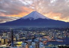 Foto de Monte Fuji, en el viaje a japon desde Argentina