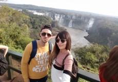 Cataratas de Iguazu con nuestra especialista Flor