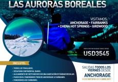 Viaje aurora boreal alaska